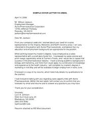 Cover Letter Lay Out Cover Letter Email Format Templates Proper