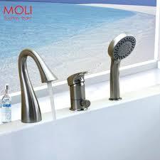 bathtub design unusual bathtub faucet showerhead wall mount deckroman hand handheld shower tub memory fjord with