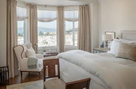 bed in bay window. Wonderful Bed Bedroom With Beautiful View Through Bay Windows In Bed Bay Window W