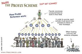 PHD Comics: Beware the Profzi Scheme