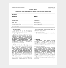 Free download for microsoft word®. Rental Agreement Template 5 Fillable For Word Doc Pdf Format