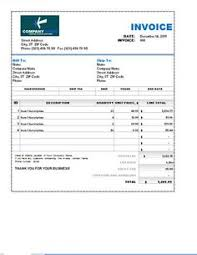 9 Best Invoice Template Word Doc Images Free Stencils Invoice