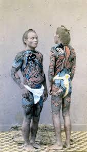 история красивых и сложных японских татуировок от привилегии