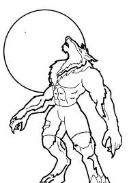 Small Picture Halloween Werewolf coloring pages 6 Nice Coloring Pages for Kids