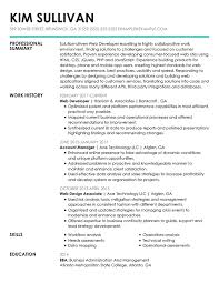 Heading For Resume 30 Resume Examples View By Industry Job Title