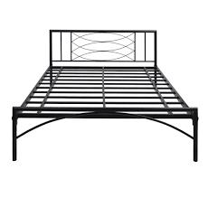 Nilkamal Bedroom Furniture Buy Ursa Queen Size Bed Without Storage Home By Nilkamal Black