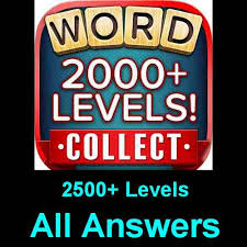 word collect answers all levels 2500