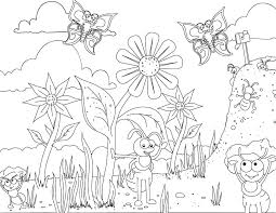 Small Picture Fun ant coloring page for your creative one Buggy Fun