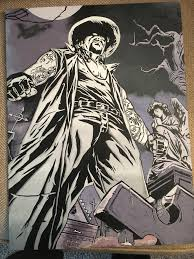 All ten issues were written by beau smith, with art by manny clark. My Dads Undertaker Art Piece Squaredcircle