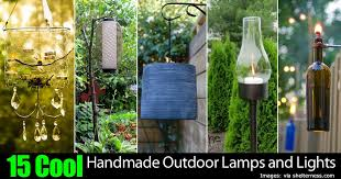 handmade outdoor lighting. 15 Mood Setting Handmade Outdoor Lights And Lamps Lighting Pinterest