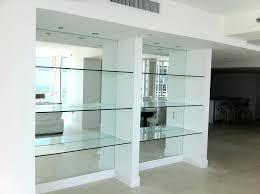 mirrored wall shelves peaceful mirrored shelf wall panel uk