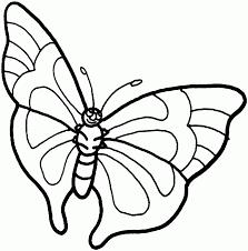 Bộ sưu tập tranh tô màu con bướm cho bé gái - Tranh Tô Màu cho bé