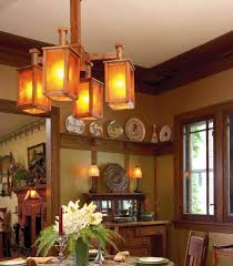 arts and crafts chandelier. This Unusual Chandelier Was Handcrafted By Gustav Stickley\u0027s Grandson In The 1980s. A Plate Rail Arts And Crafts