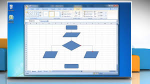 How To Make A Flow Chart In Excel 2007