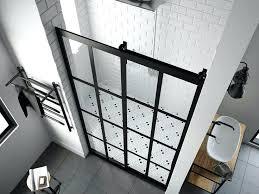 black steel framed shower doors dubious door series 1 eclipse barn by coastal decorating ideas 14