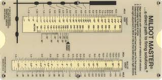 Mildot Master Chart Mil Dot Master Sniper Gear Shooting Guns Guns Ammo