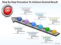 Sales Ppt Template Business Powerpoint Templates Step By Procedure To Achieve