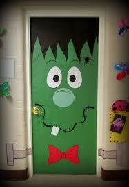 Halloween Door Decoration Idea - monster Library door maybe?