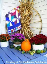 Outdoor Decorations For Fall  Southern LivingDecorating For Fall