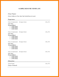 Resume Template Microsoft Word Free 100 resume template for wordpad applicationleter 25