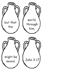 Small Picture John 317 Memory Activity Page 2