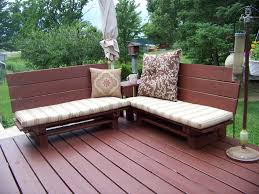 Patio From Pallets How To Make Patio Furniture Made Out Of Pallets Home And Garden
