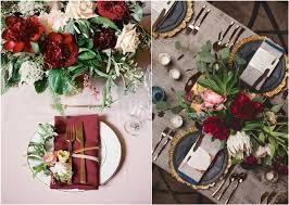 Dusty blue pink gold classic wedding ideas Bridesmaid Dresses Burgundy And Gold Wedding Decor Weddingwire 30 Elegant Fall Burgundy And Gold Wedding Ideas Deer Pearl Flowers