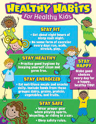 Early Childhood Education Terminology Chart Healthy Habits For Healthy Kids Chart Healthy Habits For