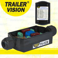 in line fuse box holder tail lights lamps trailer caravan camper in line fuse box holder tail lights lamps trailer caravan camper light wiring