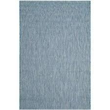 courtyard navy gray 5 ft x 8 ft indoor outdoor area rug