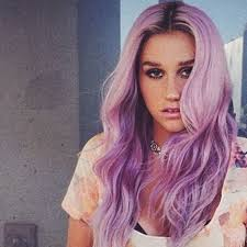 Purple Hair Style celebrity hair news keshas new hair color is purple glamour 6413 by wearticles.com
