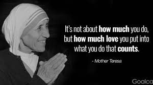 Top 20 Most Inspiring Mother Teresa Quotes Goalcast