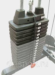 <b>Весовой стек Body Solid</b> SP50: продажа, цена в Москве. силовые ...