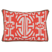 Lacefield Designs Kyoto Melon Outdoor Pillow