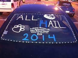 senior car paint class of 2016