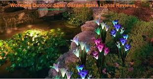 wohome outdoor solar garden stake