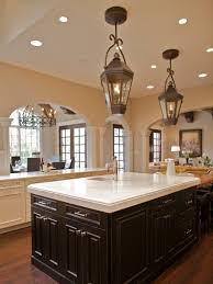 Lantern Lights Over Kitchen Island Kitchen Simple Lantern Style With 3 Light Kitchen Island