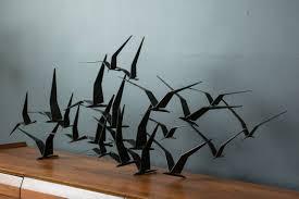 birds in flight metal wall decor luxury 2018 popular flying birds metal wall art