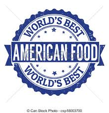 american food clipart.  Clipart American Food Stamp  Csp18003700 On Food Clipart A
