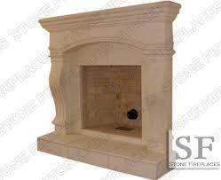 fireplace mantel cast stone surround