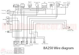 chinese atv wiring diagram wiring diagram diagram for baja 250cc atvs