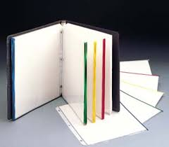 sheet protector book sheet protectors with colored edges c line products