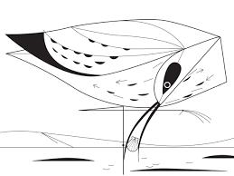 Charley Harper Coloring Book Of Birds Charley Harper 9781934429426