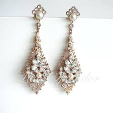 antique gold chandelier earrings like this item in spanish mexico
