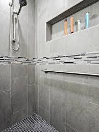 ... Porcelain Tile For Shower Best Tile For Shower Walls Ceramic Or  Porcelain Grey Color ...