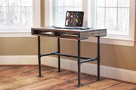diy pallet iron pipe. Rustic Industrial Pallet Pipe Desk Reviveries Diy Iron