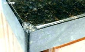 how to fix chipped granite repair chips ed countertop damaged countertops