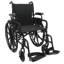 karman ultra lightweight 18 inch aluminum wheelchair 29 lbs black