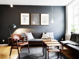 7 Living Rooms that Proved Dark Paint Colors are the Best. Charcoal WallsGray  WallsBlack ...