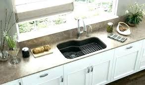 top mount sink on granite countertops overmount